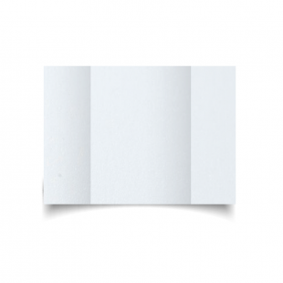 A5 Gatefold Ultra White Pearlised Card Blanks