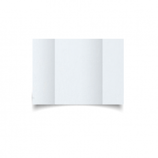 A6 Gatefold Ultra White Pearlised Card Blanks