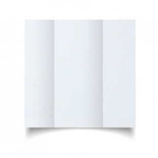 DL Gatefold Ultra White Pearlised Card Blanks