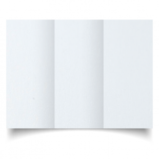 DL Trifold Ultra White Pearlised Card Blanks