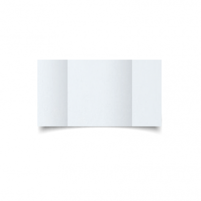 Ultra White Pearl Large Square Gate Fold Card Blank 01