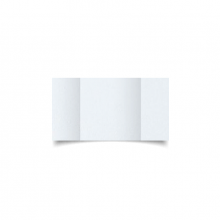 Small Square Gatefold Ultra White Pearlised Card Blanks