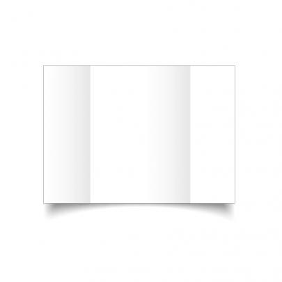 White A5 Gate Fold Card Blank 01