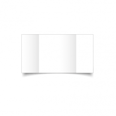 White Large Square Gate Fold Card Blank 01