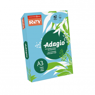 A3 Rey Adagio Bright Blue 80gsm | 500 Sheets