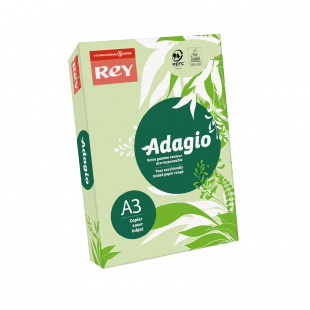 A3 Rey Adagio Bright Green 80gsm | 500 Sheets