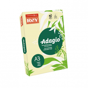 A3 (297x420mm) Rey Adagio Canary 80gsm | 500 Sheets