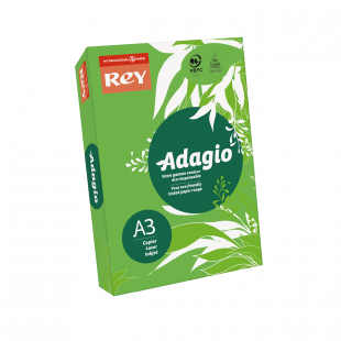 A3 Rey Adagio Deep Green 80gsm | 500 Sheets