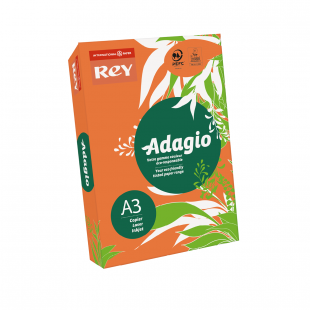 A3 Rey Adagio Orange 80gsm | 500 Sheets