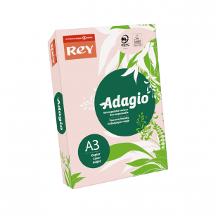 A3 Rey Adagio Pink 80gsm | 500 Sheets