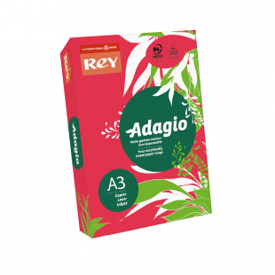 A3 Rey Adagio Red 80gsm | 500 Sheets