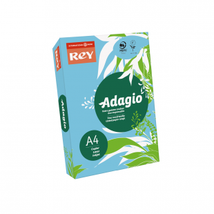 A4 Rey Adagio Bright Blue 80gsm | 500 Sheets
