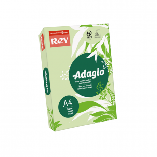 A4 Rey Adagio Bright Green 80gsm | 500 Sheets