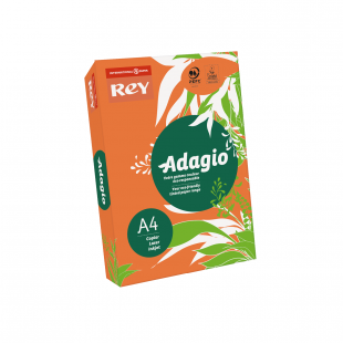 A4 Rey Adagio Orange 160gsm | 250 Sheets