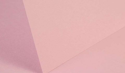 Baby Pink Card Blanks Double Sided 240gsm