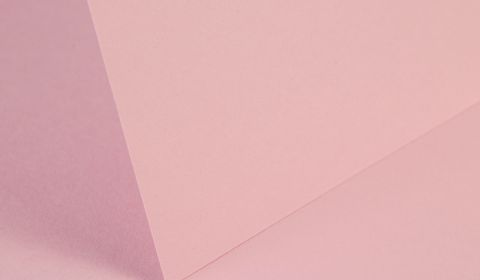Baby Pink Plain Card 240gsm