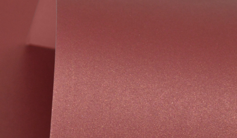 Royal Red Pure Pearl Card Blanks Double Sided 300gsm