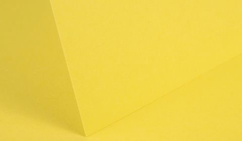 Daffodil Yellow Card Blanks Double Sided 290gsm