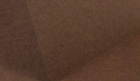 Mocha Brown Plain Card 240gsm