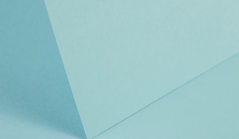 Pale Turquoise Plain Card 240gsm