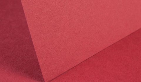 Ruby Red Plain Card 240gsm