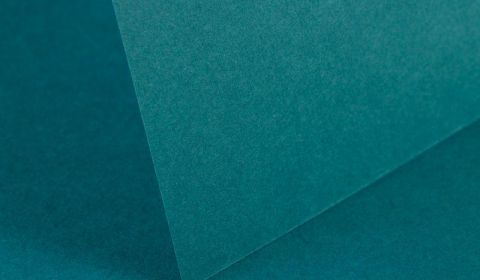 Teal Card Blanks Double Sided 240gsm