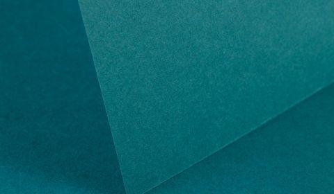 Teal Plain Card 240gsm