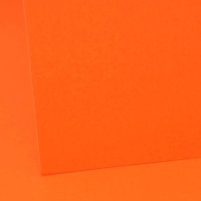 A4  Orange  Colourcard 330Mic