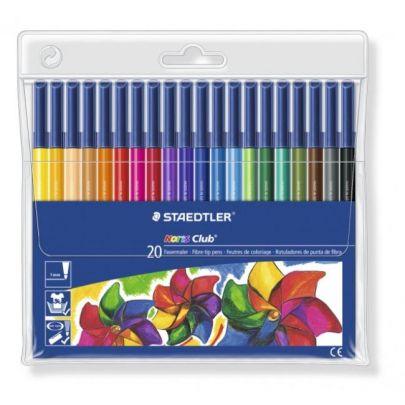 Staedtler  Noris  Club  Fibre  Tipped  Pens    Pack Of 201