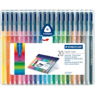 Staedtler Triplus Color Triangular Fibre Tip Pen 323 Sb 20