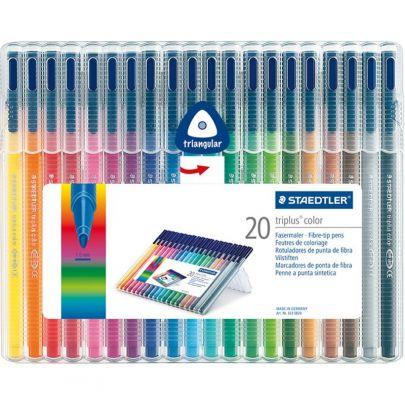 Staedtler Triplus Color Triangular Fibre Tip Pen 323 Sb 20