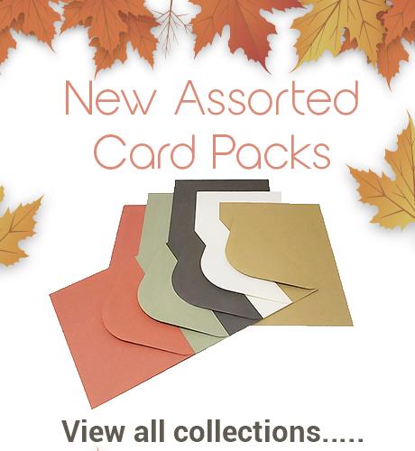 Autumn Assorted Card Packs S