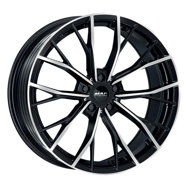 CERCHI IN LEGA MAK priMe-D-FF BMW Serie 4 Coupe 9.5x19 5x120 ET 42 BLACK MIR 3a3