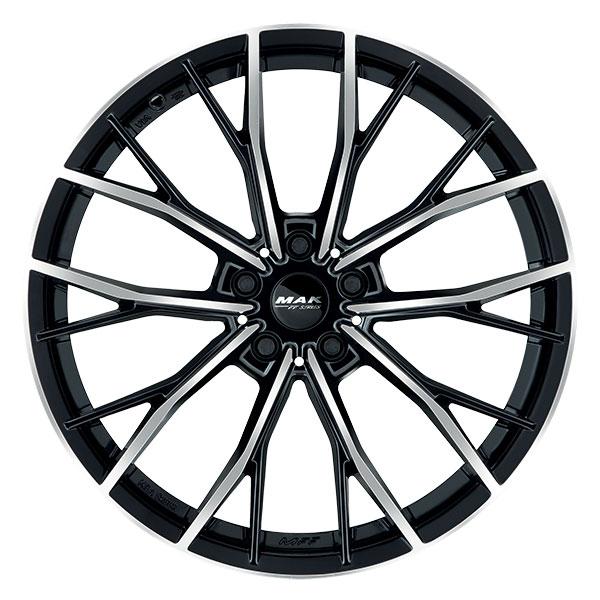 miniatura 3 - CERCHI IN LEGA MAK priMe-D-FF BMW Serie 4 Coupe 9.5x19 5x120 ET 42 BLACK MIR 3a3