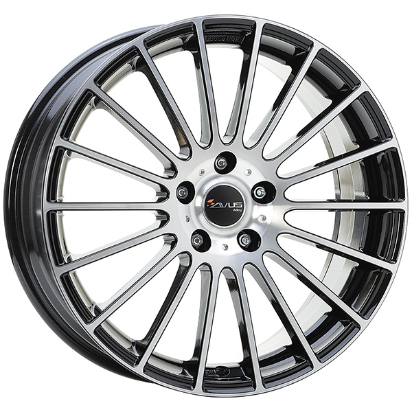 AVUS AVUS AC-M03 6.5x16 4x108 ET 40 BLACK POLISHED AC-M03 6.5x16 4x108 ET 40 BLACK POLISHED