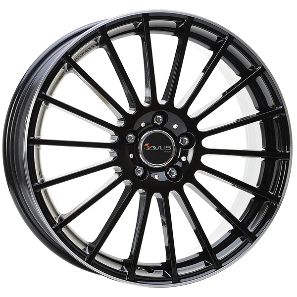 AVUS AVUS AC-M03 8x18 5x110 ET 35 BLACK POLISHED LIP AC-M03 8x18 5x110 ET 35 BLACK POLISHED LIP