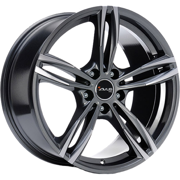 AVUS AVUS AC-MB3 8x18 5x120 ET 43 ANTHRACITE POLISHED AC-MB3 8x18 5x120 ET 43 ANTHRACITE POLISHED