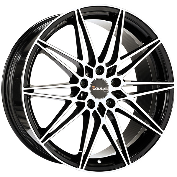 AVUS AVUS AC-MB5 8x18 5x112 ET 30 BLACK POLISHED AC-MB5 8x18 5x112 ET 30 BLACK POLISHED
