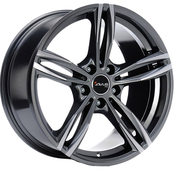 AVUS AVUS AF15 8x18 5x112 ET 30 ANTHRACITE POLISHED AF15 8x18 5x112 ET 30 ANTHRACITE POLISHED