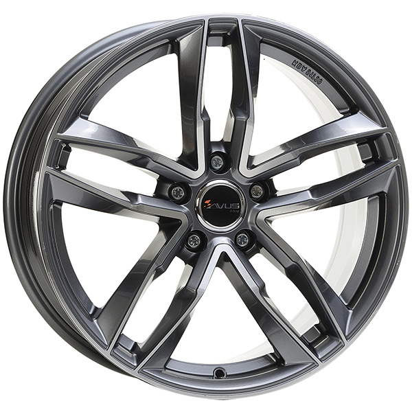 AVUS AVUS AF16 8.5x20 5x112 ET 20 ANTHRACITE POLISHED AF16 8.5x20 5x112 ET 20 ANTHRACITE POLISHED