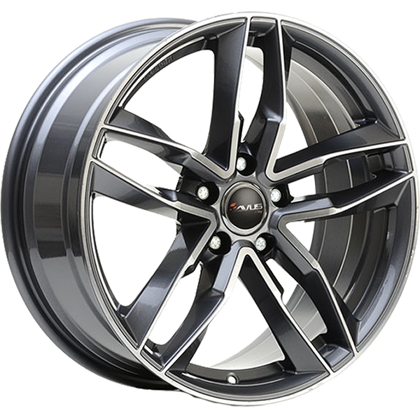 AVUS AVUS AF16 9x21 5x108 ET 38,5 ANTHRACITE POLISHED AF16 9x21 5x108 ET 38,5 ANTHRACITE POLISHED