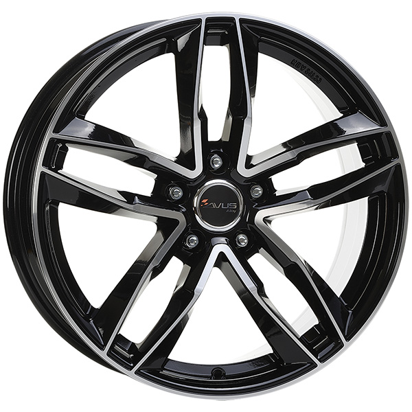 AVUS AVUS AF16 8.5x20 5x112 ET 20 BLACK POLISHED AF16 8.5x20 5x112 ET 20 BLACK POLISHED