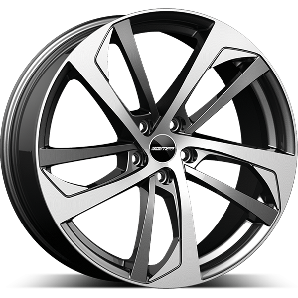 GMP GMP KATANA 8.5x19 5x112 ET 45 Anthracite Diamond KATANA 8.5x19 5x112 ET 45 Anthracite Diamond