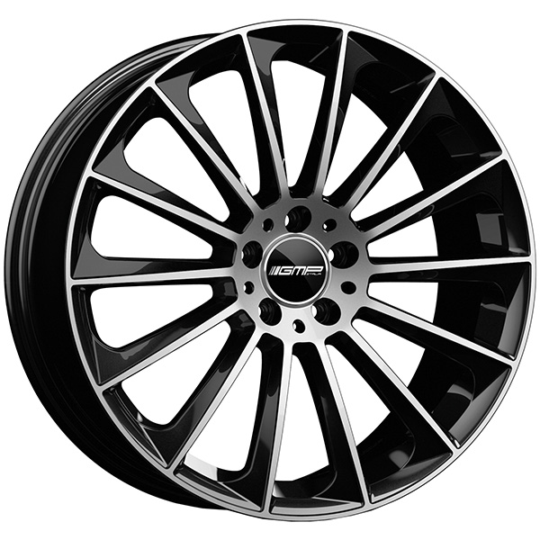 GMP GMP STELLAR 7.5x17 5x110 ET 33 Black Diamond STELLAR 7.5x17 5x110 ET 33 Black Diamond