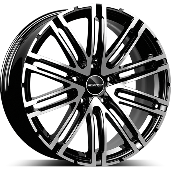 GMP GMP TARGA 11x20 5x130 ET 52 BLACK DIAMOND TARGA 11x20 5x130 ET 52 BLACK DIAMOND
