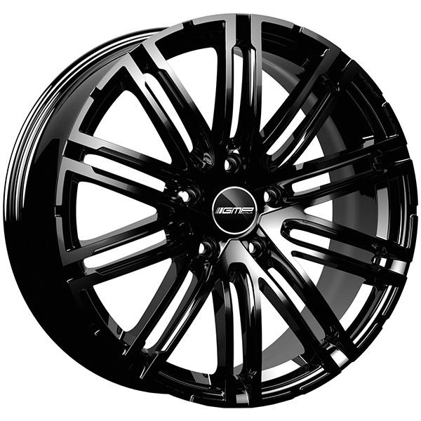 GMP GMP TARGA 11.5x22 5x130 ET 52 Glossy Black TARGA 11.5x22 5x130 ET 52 Glossy Black