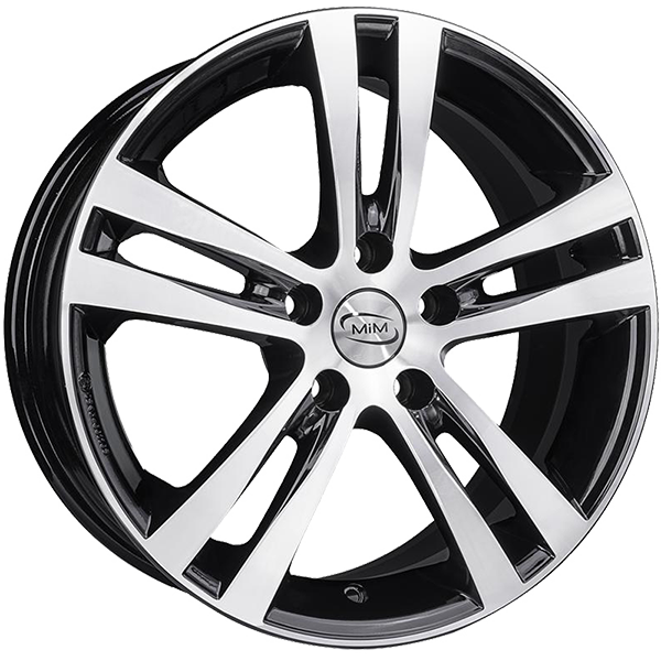 MIM MIM SPORTING 7.5x17 5x112 ET 52.5 BLACK MIRROR SPORTING 7.5x17 5x112 ET 52.5 BLACK MIRROR