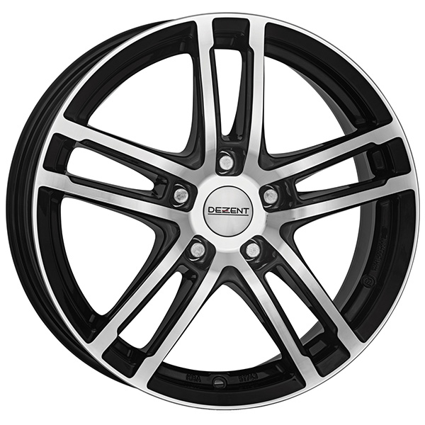 DEZENT DEZENT TZ dark 7x16 5x112 ET 48 Black/polished TZ dark 7x16 5x112 ET 48 Black/polished