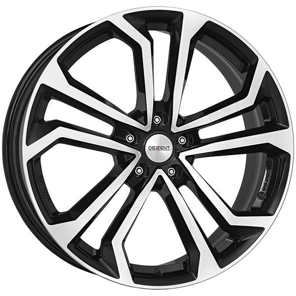 DEZENT DEZENT TA dark 6.5x16 5x114.3 ET 40 Black/polished TA dark 6.5x16 5x114.3 ET 40 Black/polished