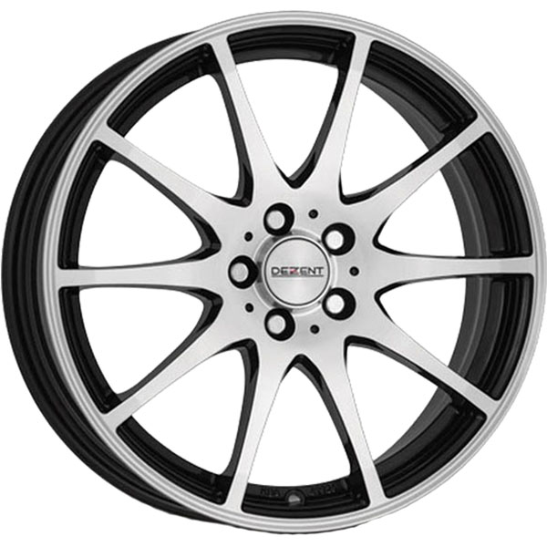 DEZENT DEZENT TI dark 6.5x16 5x108 ET 50 Black/polished TI dark 6.5x16 5x108 ET 50 Black/polished